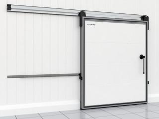 Откатные легкие холодильные двери